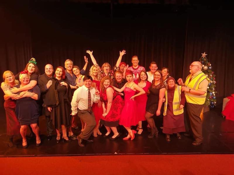 TINSEL the musical - End of Show Cast Photo