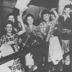 Photo of Evacuees returning from USA after WW2